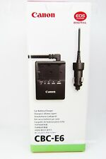 CBC-E6 Official CANON car battery charger ( for EOS 5D Mark II ) From Japan