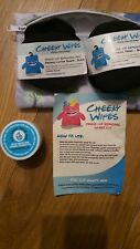Cheeky Wipes Double Layer Make-up Removing Pads Organic Bamboo Cotton Sharpa kit