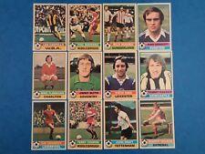 Bundle - 1977 FOOTBALL CARDS Red Backs Random Players Vintage Lot 12 Cards