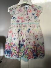 Baby Girls Dress 9-12 Months Party Christmas M&S