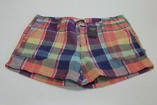 NWT ABERCROMBIE & FINCH P[AID SHORTS SIZE 4