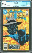 Batman 386 - CGC 9.6 (First Appearance of Black Mask) NM