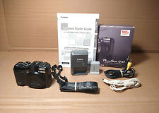 Canon POWERSHOT G10 digital camera - working with new battery, box, accessories