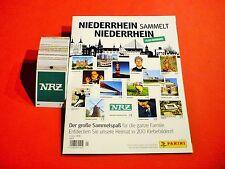 Panini Niederrhein sammelt Niederrhein - komplett alle Sticker + Album Leeralbum