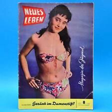 DDR Neues Leben 8/1959 KDVR Korea Wallwitz Fußball Schwedt Aschersleben Zittau B