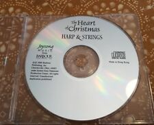 The Heart of Christmas Harp & Strings (CD, 2000, Joysong / Barbour) Disc Only