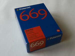 Polaroid 669 instant film, 20 sheets, expired