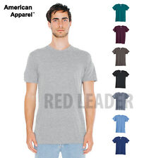 American Apparel Mens T Shirt Tri Blend Casual Unisex Fine Jersey Holiday AA006