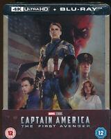 EBOND Captain America The First Avenger 4K ULTRA HD +BLU-RAY Steelbook D276006