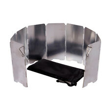 New Outdoor Camping Cooking Picnic Stove Burner Foldable Wind Shield Screen 7068