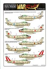 Kits World Decals 1/72 NORTH AMERICAN F-86F SABRE in Foreign Service