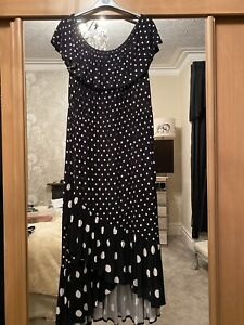 polka dot bardot dress Size 24-26