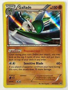 Gallade - 84/162 Holo Rare XY BREAKthrough Pokemon Card NM