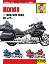 2001-2010 Honda Goldwing Gold Wing GL 1800 HAYNES REPAIR MANUAL 2787