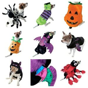 Pet Puppy Dog Halloween Scary Spooky Fancy Dress Outfit Trick or Treat Jumper