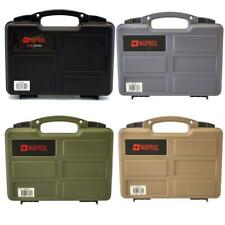 *NEW* Nuprol Small Airsoft or Paintball Pistol Hard Case with PnP Foam