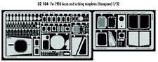 Eduard 1/32 Focke Wulf Fw 190D access panels for Hasegawa kit # 32104