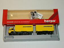 DANZAS maquette wagener CAMION REMORQUE Herpa 140287 Iveco TS 1:87 H0 truck LKW