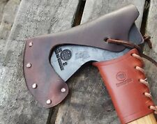 Leather Axe Sheath Mask For Handheld Hultafors Gransfors Bruks Bushcraft Camping