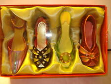 Vintage Design Miniature Shoes Figurine Collectible - Mint Condition Nice Color