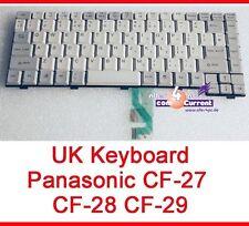 TASTATUR KEYBOARD ENGLISH UK LAYOUT PANASONIC TOUGHBOOK CF-27 CF-28 CF-29 CF29