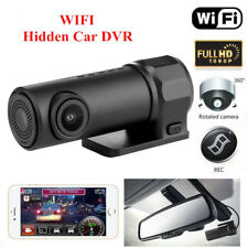 360° 1080P FHD Dash WIFI Hidden Car DVR Camera Video Cam Recorder Wide Angle