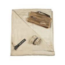 Gear Aid McNett Tactical Ultra Compact Microfiber Towel & Bag Sand Brown X-Large
