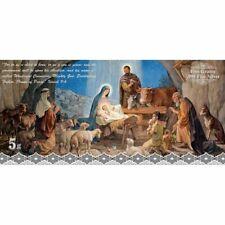 5 Gram .999 Silver Foil - Nativity Scene Colorized - Sealed in Vinyl - New
