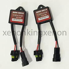 JDM Anti-Flicker Decoder Warning Canceller Wire Cable Capacitor #d4 H7 Low Beam