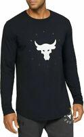 Under Armour Men/'s UA x Project Rock Brahma Long Sleeve Shirt 1345577 Size M /& L