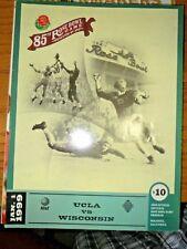 1999 UNIVERSITY OF WISCONSIN BADGERS FOOTBALL PROGRAM ROSE BOWL VS UCLA