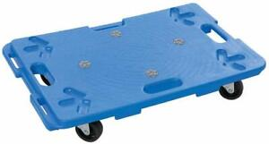 Home DIY General Dolly Trolley Interlocking Platform Wheels 100kg Capacity 60x40