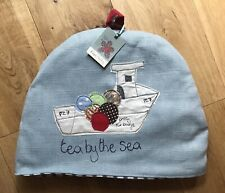 Poppy Treffry Large Tea Cosy 'Tea By The Sea'