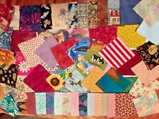 25 Assorted New Cotton 4� Quilting Squares Usa