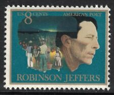 Scott 1485 Robinson Jeffers- Poet, unused US stamp MNH 8c 1973