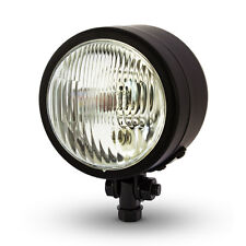 "4.5"" 4 1/2"" Matt Black Headlight 12V 55W for Harley Davidson Dyna Custom Project"