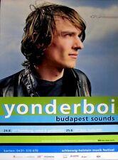 YONDERBOI - 2007 - Tourplakat - In Concert - Budapest Sounds - Tourposter