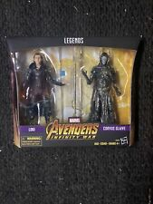 "Marvel Legends 6"" MCU Corvus Glaive + Loki Avengers Infinity War Black Order New"