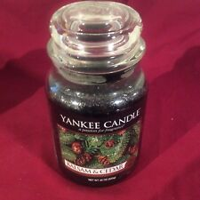 Yankee Candle Christmas Cookie Fragrance 22oz Jar Home Decor Candle