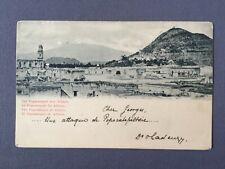 ±1900 Postcard MEXICO THE VOLCANO POPOCATEPETL OF ATLIXCO