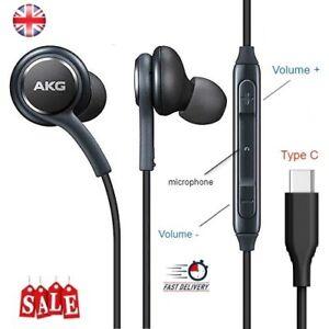 SAMSUNG USB TYPE C AKG EARPHONES HEADPHONES FOR GALAXY NOTE 10, 10+, S20,