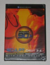 Power 90 - Sculpt Circuit 3 - 4 - Tony Horton - Brand New Sealed