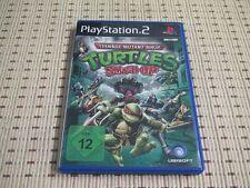 Teenage Mutant Ninja Turtles Smash-Up für Playstation 2 PS2 PS 2 *OVP*