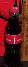 2011 125 YEARS OF SHARING HAPPINESS SINCE 1886  8 OUNCE COCA COLA BOTTLE HTF