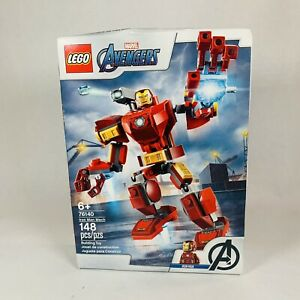 LEGO Marvel Avengers Iron Man Mech 76140 Playset Building Kit 148pcs