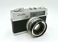 Vintage Minolta 7s Hi-Matic Camera Rokkor-PF 45mm 1.8 Lens / Untested