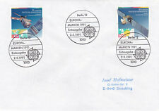 Germany 1991 Europa Europe In Space Set FDC VGC