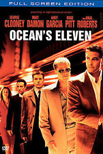 Oceans Eleven (DVD, 2002, Full Frame Edition) DISC IS MINT