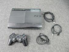 Playstation 3 PS3 Super Slim Konsole 12GB + Controller + Spiel