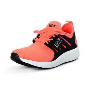 Emporio Armani EA7 Men's Pink Fashion Sneakers Shoes US 9 EU 42 2/3